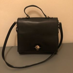 Kate Spade Black/Leopard purse